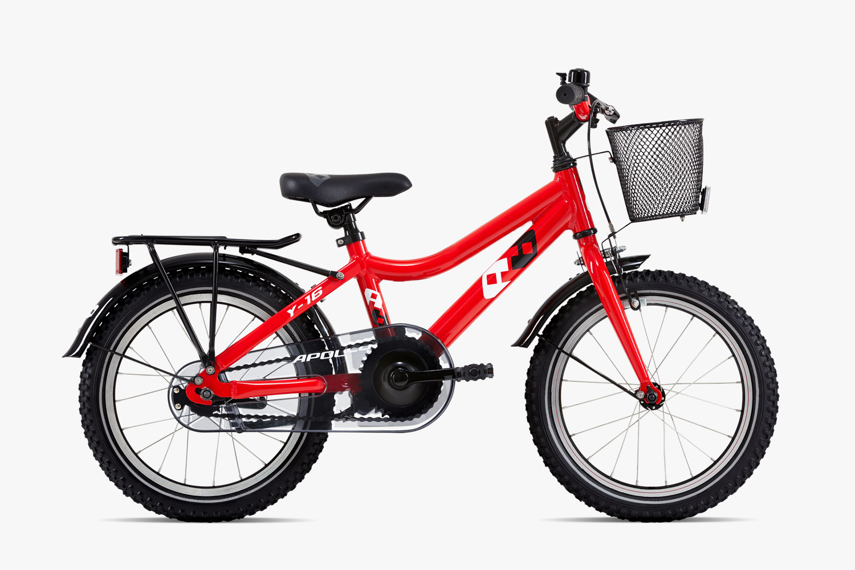 stödhjul till 16 tums cykel